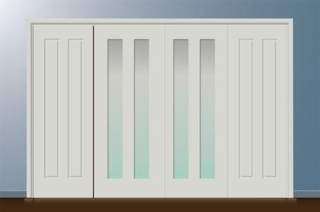 Armario 2 a 3 puertas con variaciones 2
