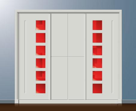 Armario 2 a 3 puertas con variaciones 3